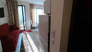 Pool view furnished Studio apartment for sale in Amber beach Sunny beach Bulgaria