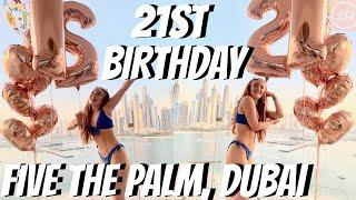 21ST BIRTHDAY AT FIVE ON THE PALM JUMEIRAH! STAYCATION VLOG IN DUBAI! Lucy Stewart-Adams