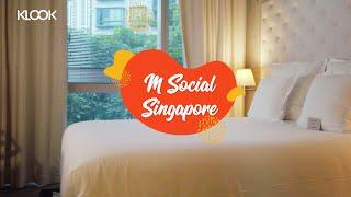Klook Reviews: M Social Hotel Singapore Couple Staycation - Alcove Cosy Room, Beast & Butterflies