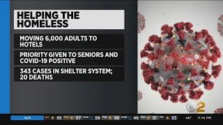 Coronavirus Update: NYC Moving Homeless Individuals From Shelters To Hotels To Slow The Spread