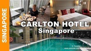 Carlton Hotel Singapore Review with PREMIER CLUB ROOM - Singapore Luxury Hotels