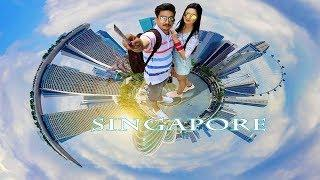 Our First Foreign Trip To Singapore || Travel guide || City tour