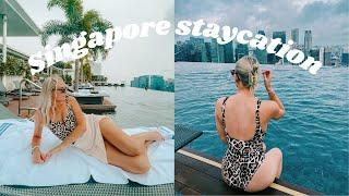 A much needed Singapore staycation! 24 hours at Marina Bay Sands Hotel