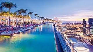 Marina Bay Sands Hotel Singapore: full tour (spectacular rooftop pool)