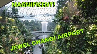 THE JEWEL CHANGI AIRPORT TOUR IN 4K 2019  - BEST AIRPORT IN THE WORLD #THEJEWELCHANGI #INSTA360ONEX