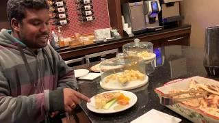 USA | Tamil Vlog | Star Hotel Food Bar and  Room Tour | Best place to stay near Chicago Airport