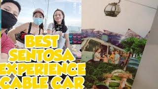 Best Sentosa Experience Cable car