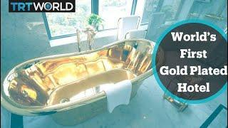 World's first 'gold-plated' hotel opens in Hanoi, Vietnam