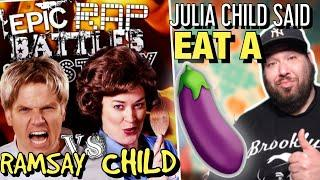 A Historian Reacts to Gordon Ramsay vs Julia Child | EVERY BAR EXPLAINED (ERB Reaction)