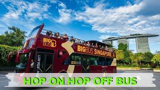 HOP ON HOP OFF BUS - SINGAPORE    SINGAPORE DIARIES    EP.11   BEST PLACES TO VISIT IN SINGAPORE   