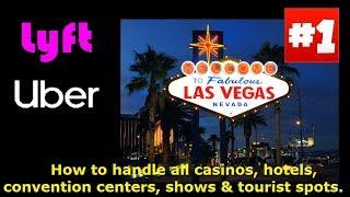 Uber & Lyft. How to navigate all Las Vegas hotels,casinos,shows, conventions & tourist spots.2 hours