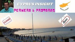 Pernera & Protaras, Cyprus, Hotels and What is Open June 2021.