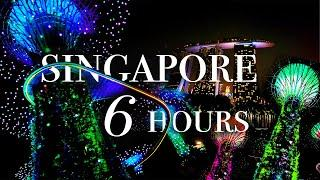 SINGAPORE 6HOURS  // シンガポール 6時間旅!!