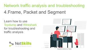 4.Network traffic analysis and troubleshooting. Frame, Packet, Segment