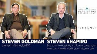 Being taught by the best in their field : Steven Goldman and Steven Shapiro at FERRANDI Paris